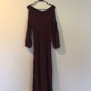 Open shoulder maxi from Earthbound
